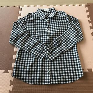 アルシーヴ(archives)のギンガムチェックシャツ ブラウス M(シャツ/ブラウス(長袖/七分))
