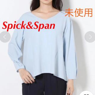 Spick and Span - 未使用 Spick & Span 夏もの Tブラウス プルオーバー 36