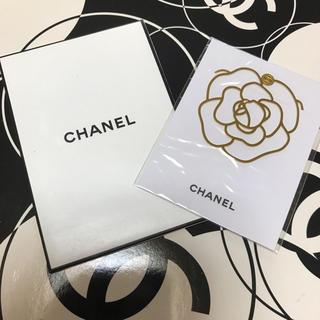 シャネル(CHANEL)のシャネル ブックマーク カメリア 非売品(しおり/ステッカー)