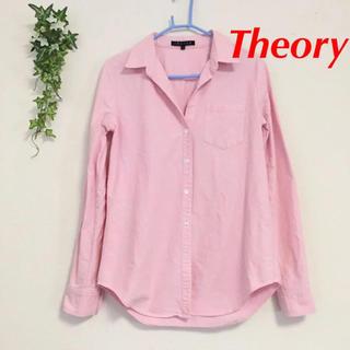 theory - Theory コットン ロング シャツ Sサイズ