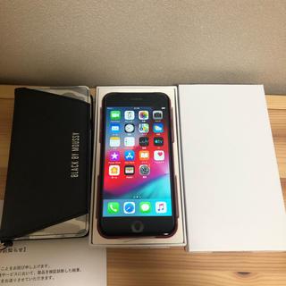 アップル(Apple)のAppleCare付!iPhone8 新品未開封 64G レッド 利用制限×(スマートフォン本体)