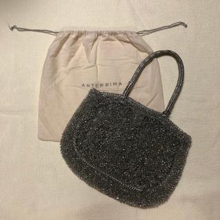 アンテプリマ(ANTEPRIMA)のアンテプリマ ワイヤーバッグ シルバー美品(ハンドバッグ)