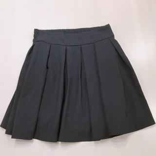 イング(INGNI)のプリーツスカート 黒 (ミニスカート)