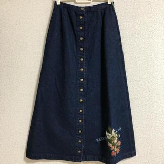 カネコイサオ(KANEKO ISAO)のカネコイサオ デニムロングスカート(ロングスカート)