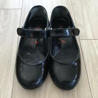 アニエスベー(agnes b.)のagnes.b エナメルシューズ(セレモニーシューズ) 子供靴(フォーマルシューズ)