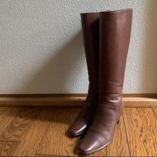 ザラ(ZARA)の激安❤️本革❤️定価5万!百貨店購入!茶色ブーツ❤️(ブーツ)