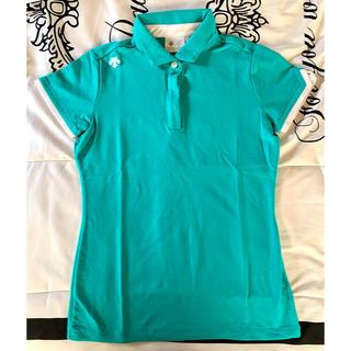 DESCENTE - DESCENTE  デサント  半袖ポロシャツ