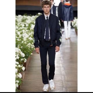 ディオールオム(DIOR HOMME)の16ss Dior homme ボンバージャケット 薔薇 ネイビー(ブルゾン)