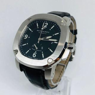 BURBERRY - レア バーバリー ブリテン 40時間パワーリザーブ BBY1002 メンズ腕時計