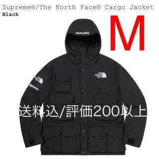 シュプリーム(Supreme)の黒M 20SS Supreme North Face Cargo Jacket(マウンテンパーカー)