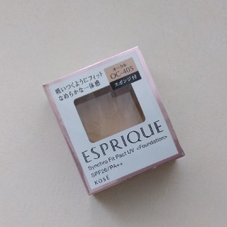 ESPRIQUE - 新品 エスプリークシンクロフィットパクトUV OC-405