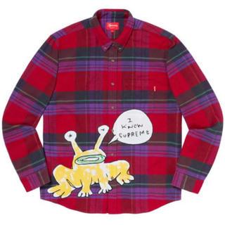 sサイズ supreme Daniel Johnston Plaid Shirt(シャツ)