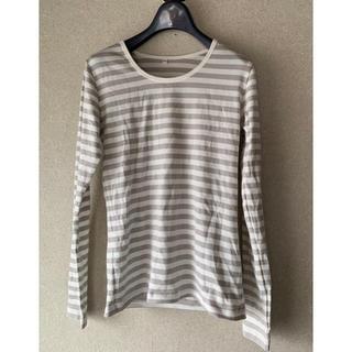 ムジルシリョウヒン(MUJI (無印良品))の無印良品 ボーダーロングTシャツ(Tシャツ(長袖/七分))