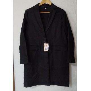 ムジルシリョウヒン(MUJI (無印良品))の無印良品 新品黒のチェスターコート(チェスターコート)