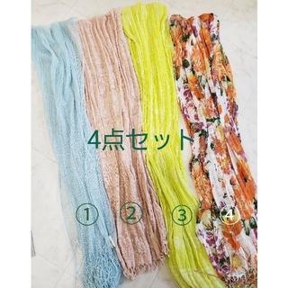 ロートレアモン(LAUTREAMONT)の■【美品】スカーフ4点セット(バンダナ/スカーフ)