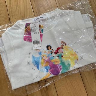 グローバルワーク(GLOBAL WORK)の新品タグ付き☆GLOBAL WORK ディズニープリンセスTシャツ(Tシャツ/カットソー)