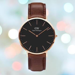 ダニエルウェリントン(Daniel Wellington)の長期保証付き【36㎜】ダニエルウエリントン 腕時計〈DW00100138〉(腕時計(アナログ))