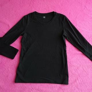 ユニクロ(UNIQLO)の☆ユニクロ 長袖Tシャツ Lサイズ(Tシャツ(長袖/七分))