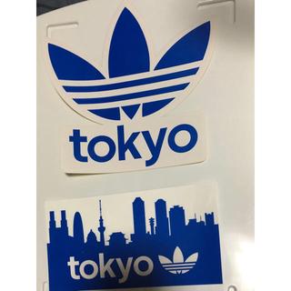 アディダス(adidas)のアディダス 非売品ステッカー 2枚セット(スケートボード)