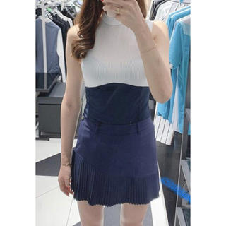 DESCENTE - ☆DESCENTE GOLF KOREA☆Aライン プリーツスカート
