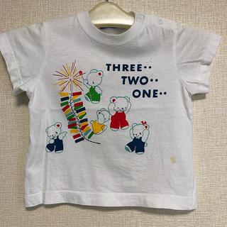 ファミリア(familiar)の訳あり ファミリア Tシャツ サイズ90cm(Tシャツ/カットソー)