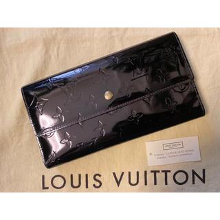 LOUIS VUITTON - ルイヴィトン ヴェルニ 長財布 財布 折り財布 メンズ レディース
