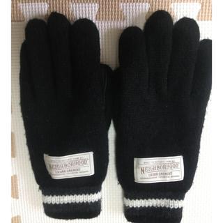 ネイバーフッド(NEIGHBORHOOD)のネイバーフッド ウールグローブ MLサイズ(手袋)