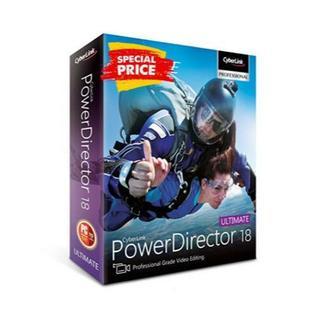 PowerDirector Ultimate 18 おまけソフト付き(ノートPC)