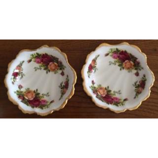 ロイヤルアルバート(ROYAL ALBERT)のロイヤルアルバート小皿2枚(食器)