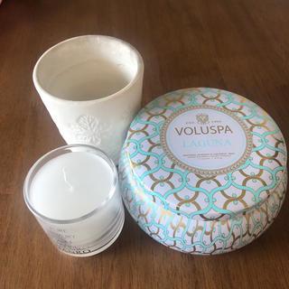 ボルスパ(VOLUSPA)のキャンドル詰め合わせ(キャンドル)