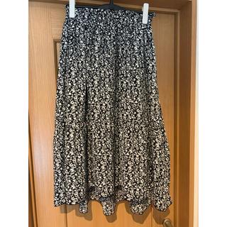シマムラ(しまむら)の美品!レディース しまむら 花柄 スカート  M(ひざ丈スカート)