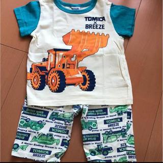 BREEZE - トミカ ブリーズ パジャマ 半袖 半ズボン 100 ユニクロ 西松屋 しまむら