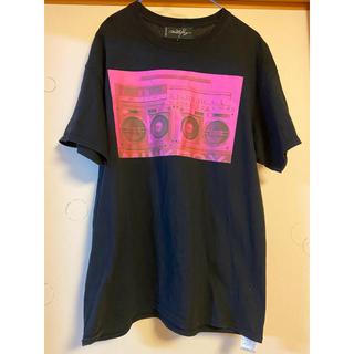 ミルクボーイ(MILKBOY)のMILKBOY ミルクボーイ サウンド Tシャツ ブラック ピンク (Tシャツ/カットソー(半袖/袖なし))