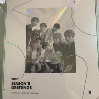 新品未開封  BTS シーズングリーティング 2020  バンタン DVD 手帳(その他)