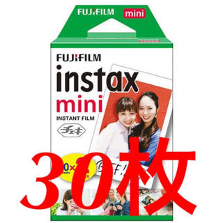 富士フイルム - チェキフィルム instax mini 30枚