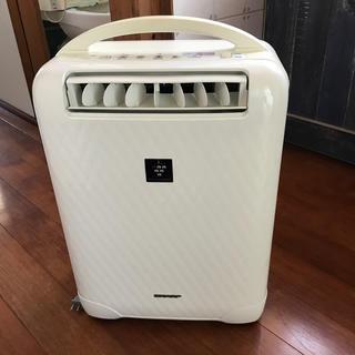 シャープ(SHARP)のSHARP プラズマクラスター 冷風除湿機 ホワイト系 CV-A100-W(加湿器/除湿機)