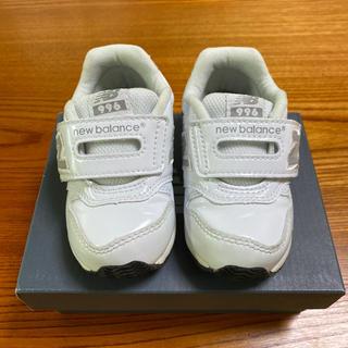 New Balance - ニューバランス 996 スニーカー 13.5 エナメル 白 ホワイト フォーマル