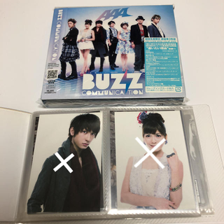 AAA - BUZZ COMMUNICATION/AAA CD&2DVDアルバム