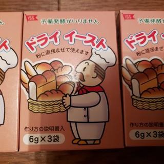 ドライイースト 6g×3袋を4箱(パン)