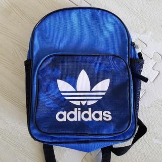 アディダス(adidas)のadidas キッズ用リュック ブルー(リュックサック)