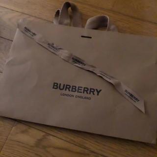 バーバリー(BURBERRY)のBurberry ショップ袋 リボン付(ショップ袋)
