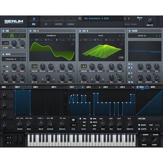 XFER RECORDS SERUM 正規品(ソフトウェア音源)