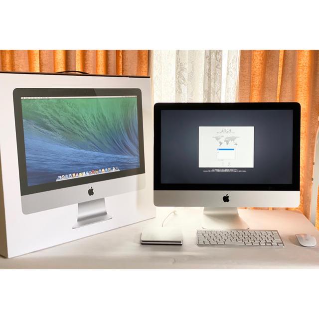 Mac (Apple)(マック)のApple iMac インテルi5 8GB 2013モデル 初期化済み スマホ/家電/カメラのPC/タブレット(デスクトップ型PC)の商品写真