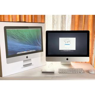 マック(Mac (Apple))のApple iMac インテルi5 8GB 2013モデル 初期化済み(デスクトップ型PC)