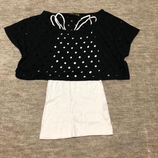 エルビーゼロスリー(LB-03)のLB-03 Tシャツ キャミソール セット(Tシャツ(半袖/袖なし))