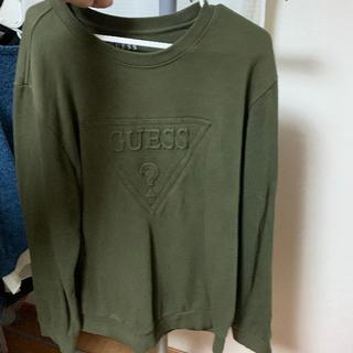 GUESS - Guess パーカー 緑 XL