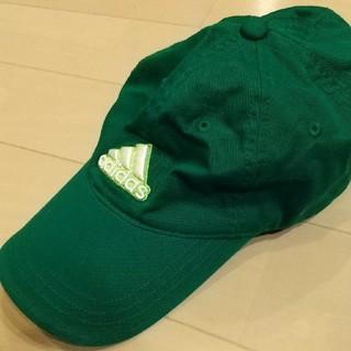 アディダス(adidas)のアディダス♪グリーンのキャップ 帽子(キャップ)