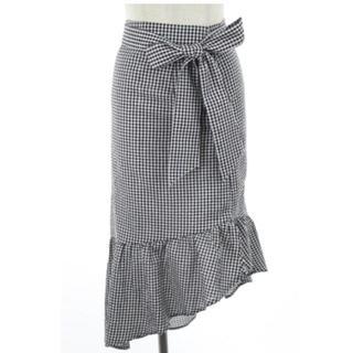 Lily Brown - リリーブラウン チェックミディスカート