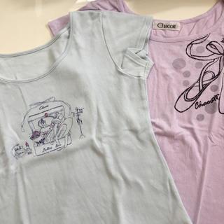 チャコット(CHACOTT)の美品★チャコット★Tシャツ 150J 2枚セット(Tシャツ/カットソー)