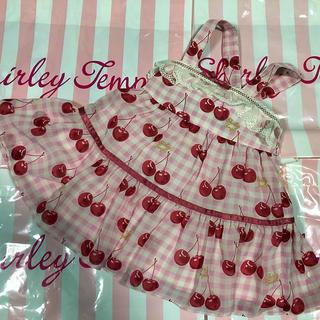 Shirley Temple - シャーリーテンプル🍒チェリーptシフォンJSK 90サイズ